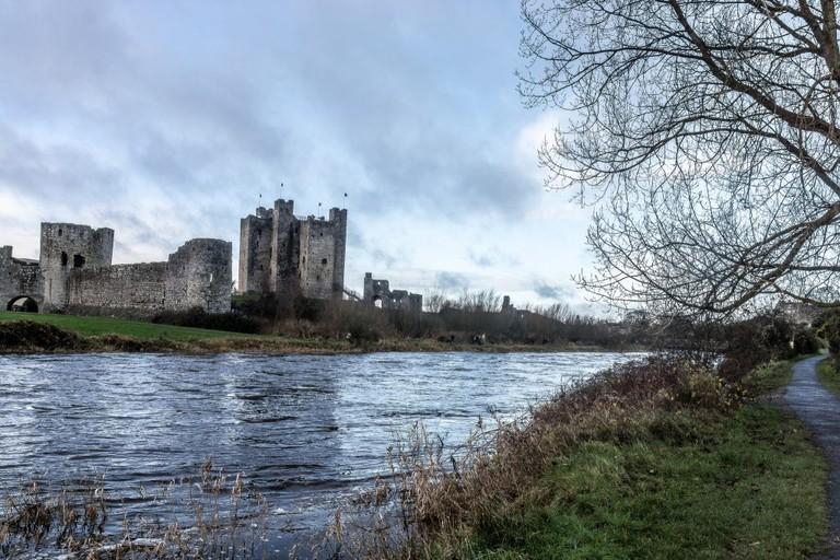 Trim Castle on the River Boyne