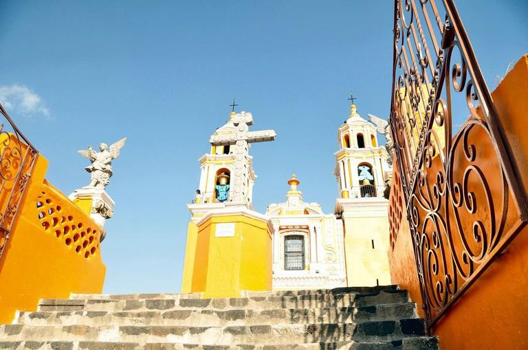 Cholula's Santuaria de Nuestra Senora de los Remedios