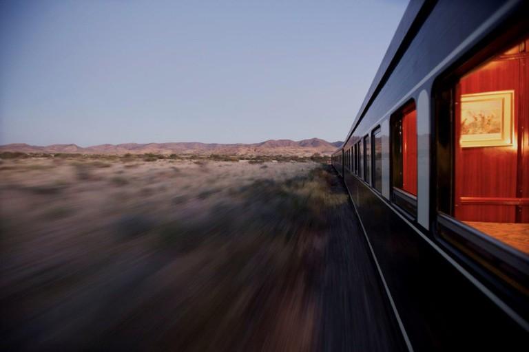Rovos Rail through Namibia