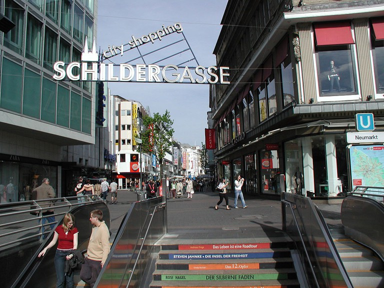Schildergasse shopping street