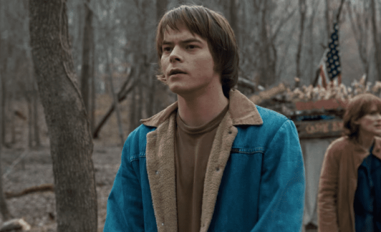 Charlie Heaton in Stranger Things