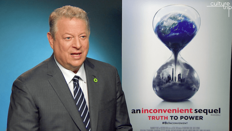 Al Gore talking exclusively to Culture Trip