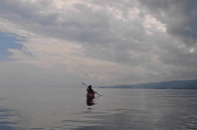 Kayaking Lake Kivu | Courtesy of Leah Feiger