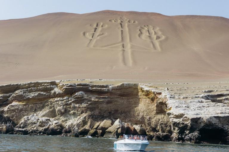 The geoglyph El Candelabro
