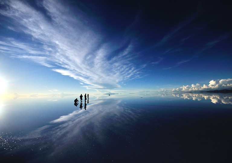 Check out the incredible vistas of Uyuni