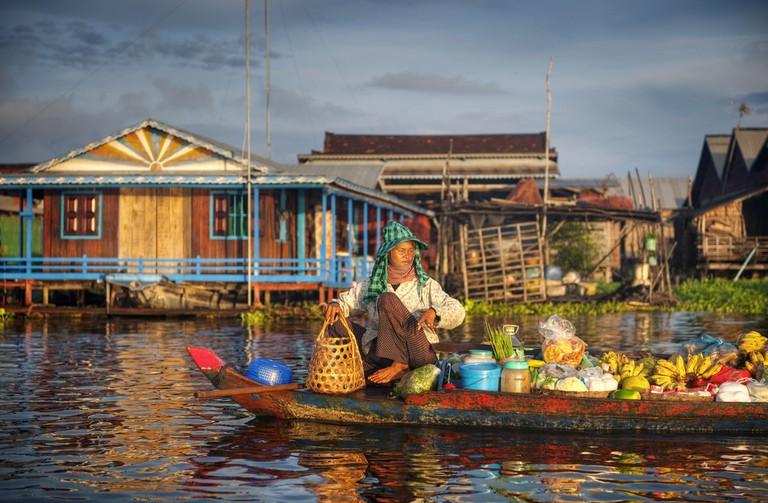Fruit seller in Cambodia | © Rawpixel.com/ Shutterstock.com