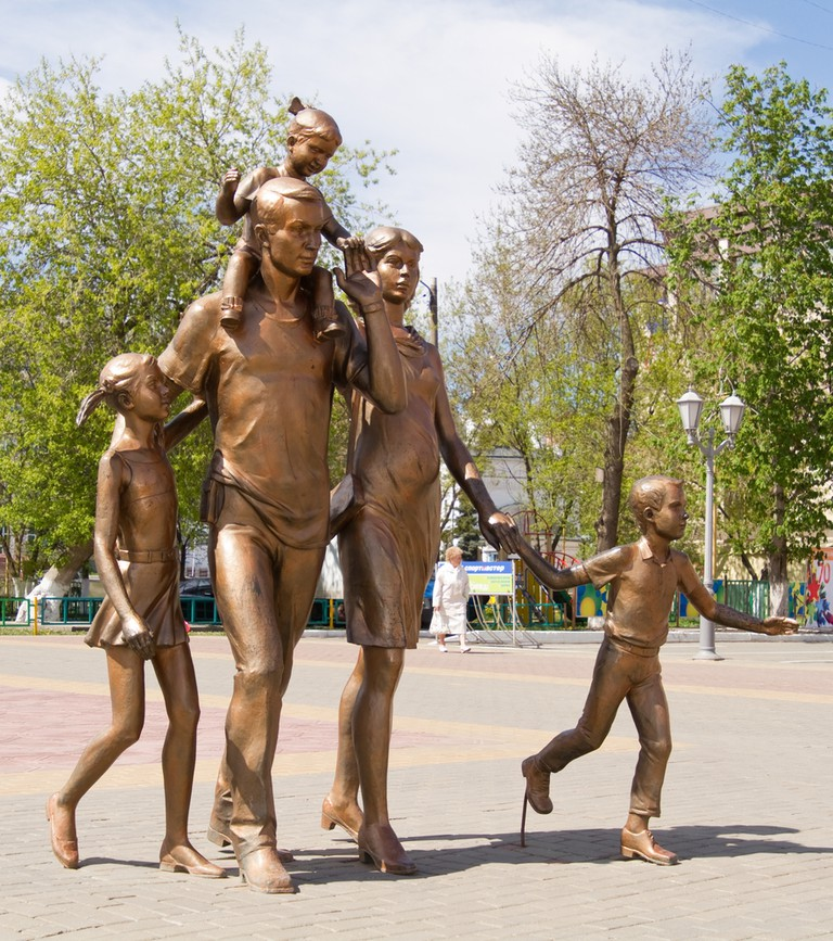 Monument to the Family, Saransk