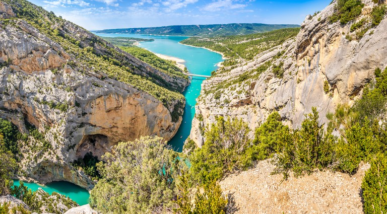 The Gorges du Verdon is Europe's Grand Canyon