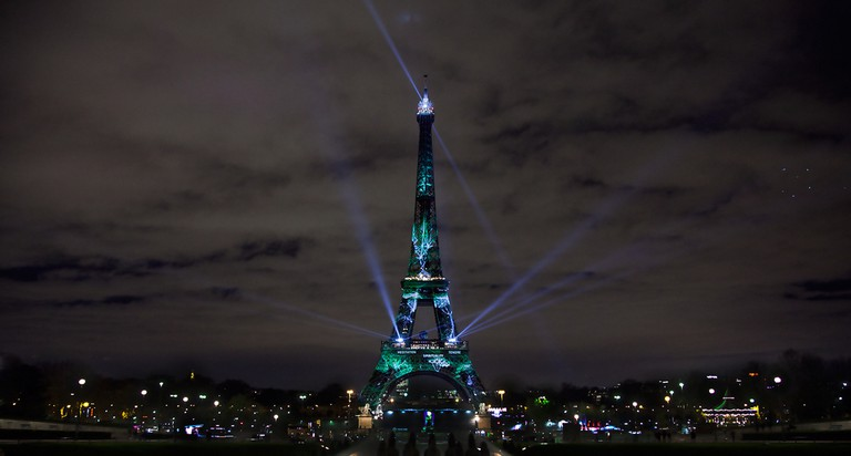 The Eiffel Tower on the eve of the Paris Climate Agreement | © Elfred Tseng/Shutterstock