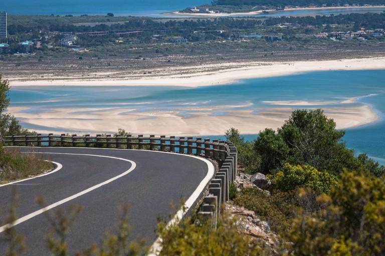Explore the Arrabida mountains and local beaches in Setúbal