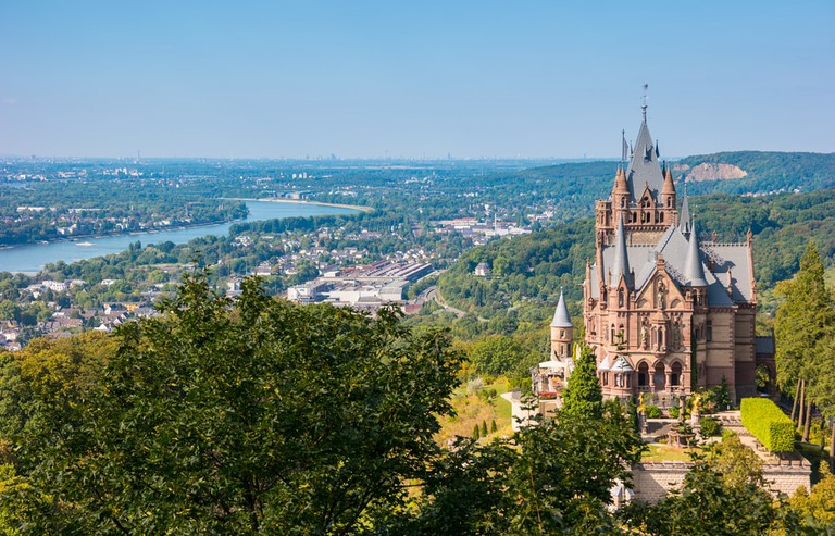 Drachenburg Castle near Königswinter, Germany