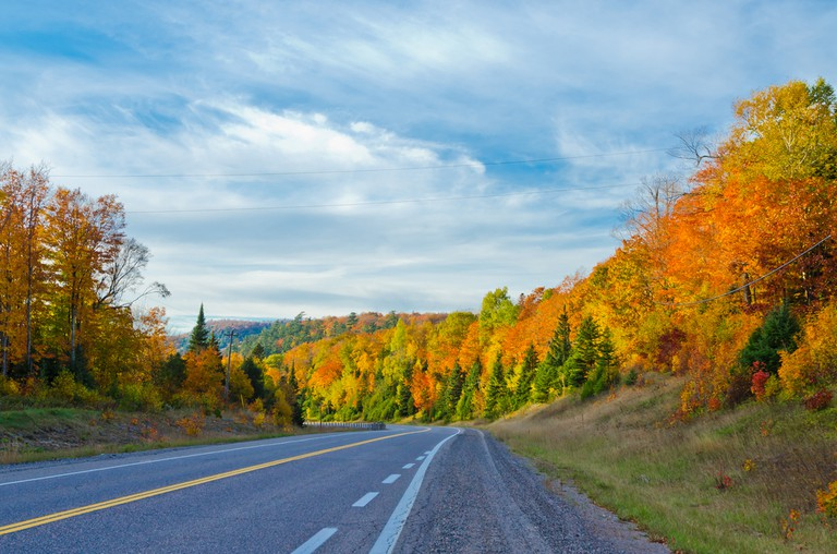 Along the Trans-Canada Highway in rural Ontario
