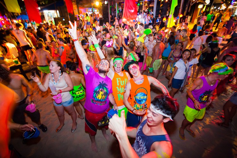 Famous Full Moon party on Koh Phangan | © Vasit Buasamui/Shutterstock