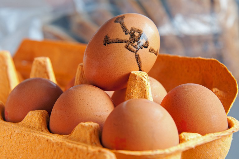 A website can help the public identify the contaminated eggs
