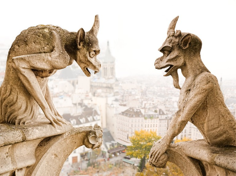Gargoyle demons that watch over Paris from Notre-Dame | © Gzaleckas/Shutterstock