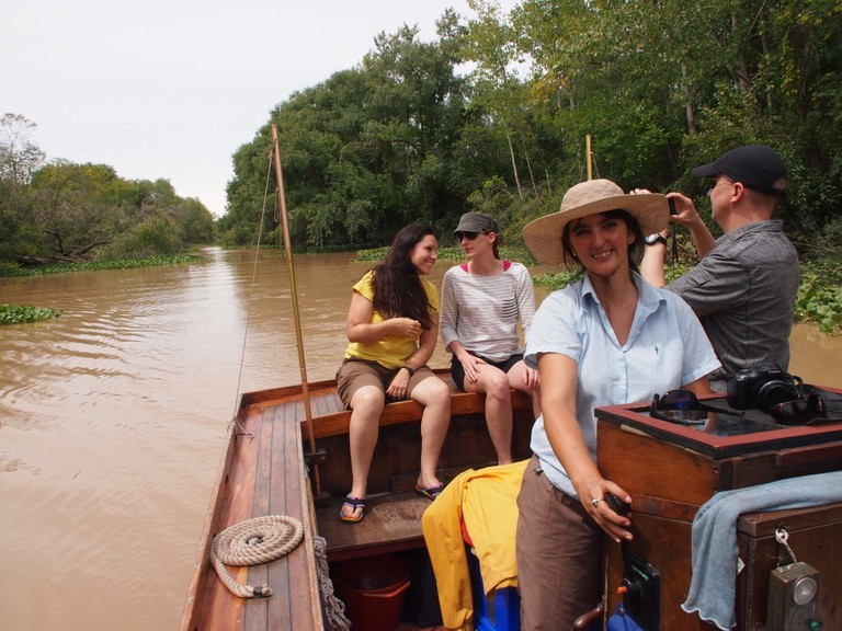 The rustic charm of the Tigre backwaters