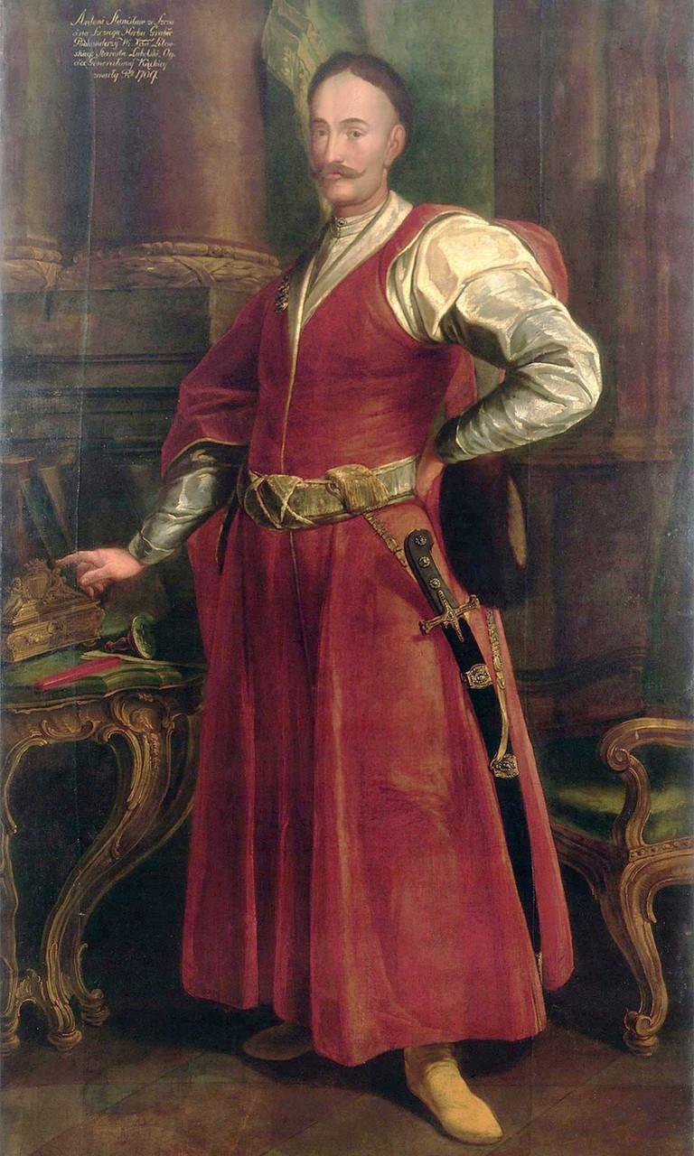 Portrait of Stanisław Antoni Szczuka