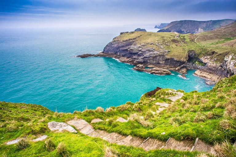 Stunning Cornwall coastline