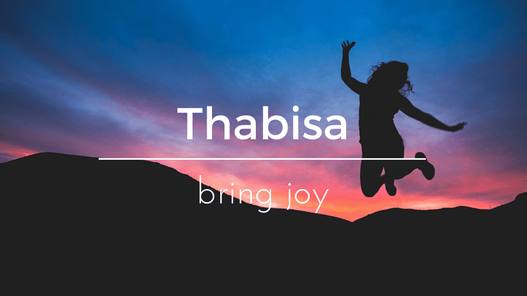 Thabisa South African name and its meaning