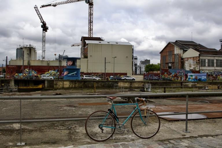The Bassins à Flots neighborhood is undergoing a transformation