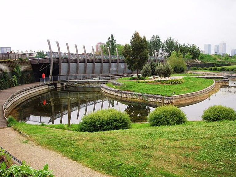 The Ecology Pavilion in Mile End Park