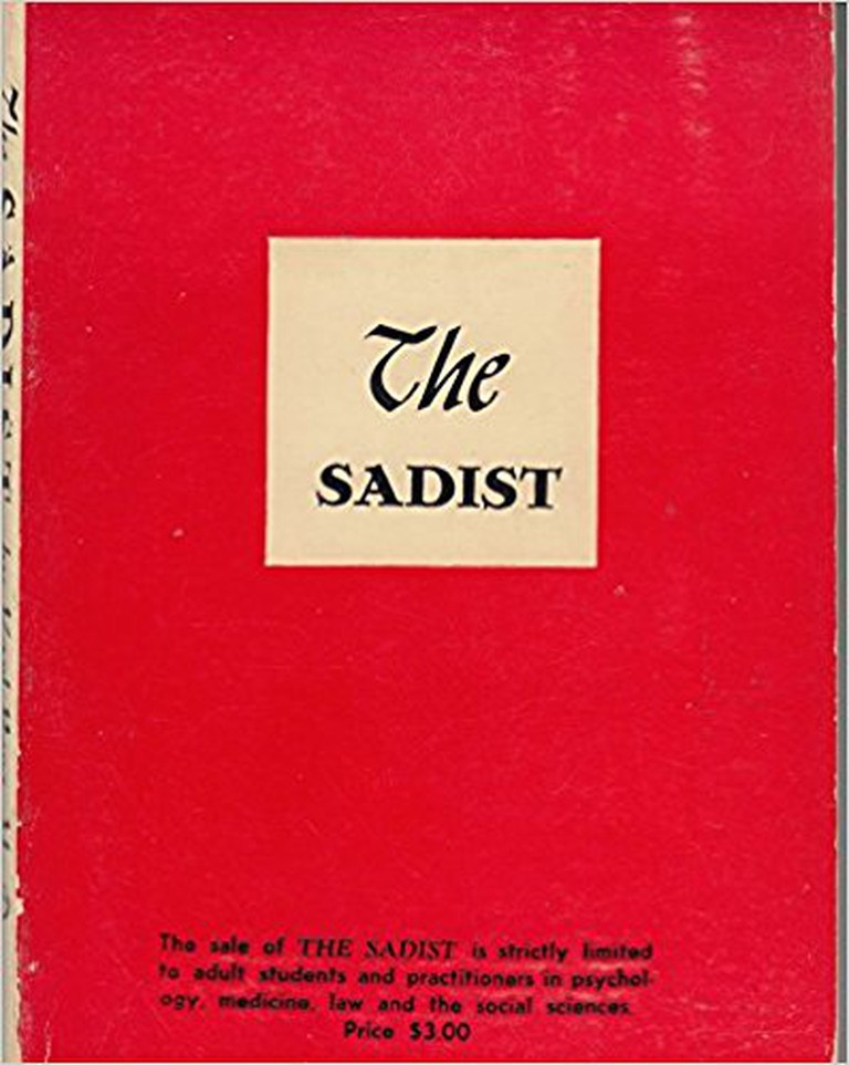The Sadist | Courtesy of Medical Press of New York