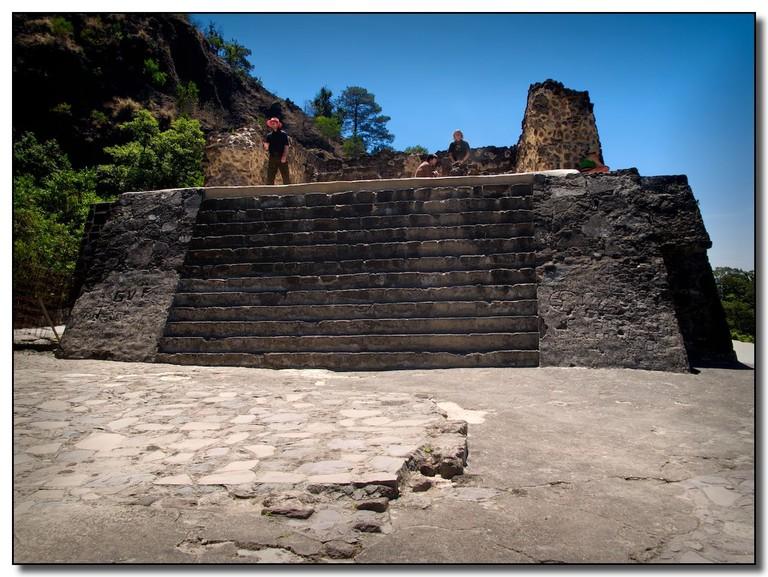 The Temple of Tepostécatl