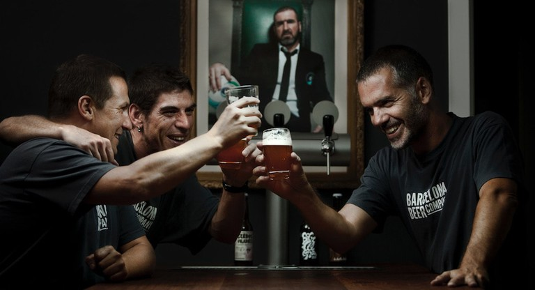 Meet the team Courtesy of Barcelona Beer Company