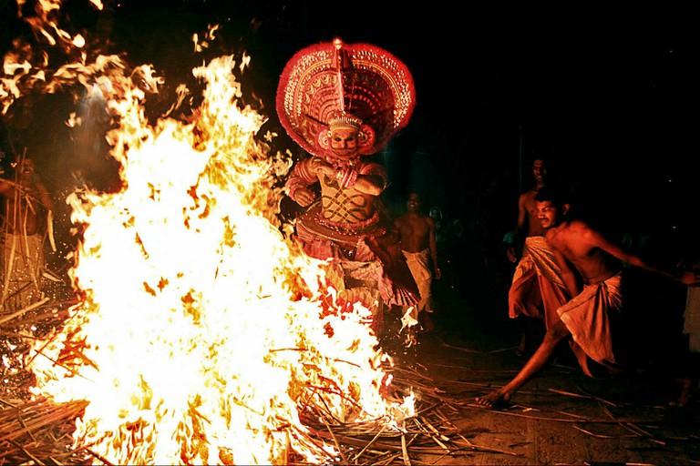 Theyyam Festival, Kerala