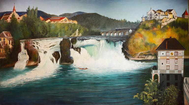 Csontváry Kosztka Tivadar, Waterfall of Schaffhause