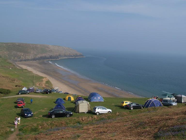 Nant-y-big Campsite