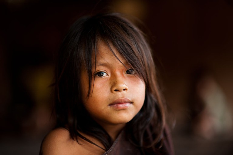 Young Ashaninka girl in an Apiwtxa village, Acre state, Brazil |©Pedro França/MinC