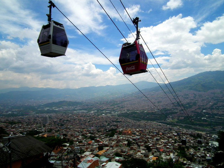 The innovative Medellin Metrocable