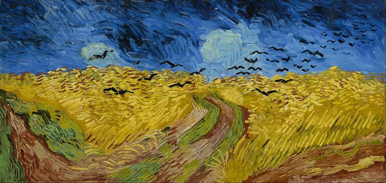 Vincent van Gogh, Wheatfield with Crows (1890) | Via Google Cultural Institute/WikiCommons