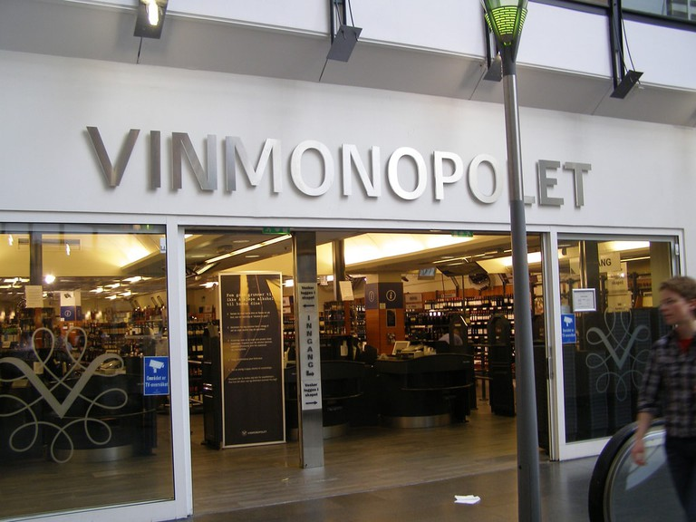 Vinmonopolet in Norway
