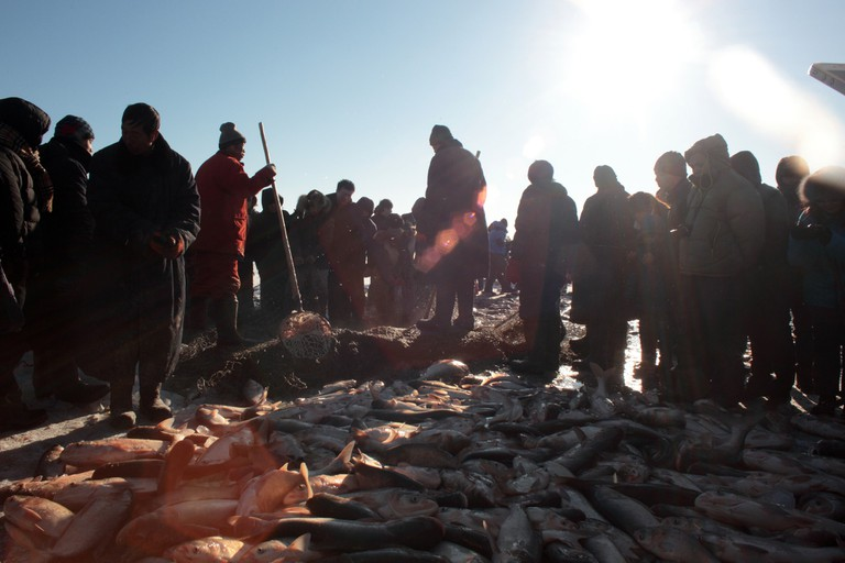 Chagan Lake Fishing