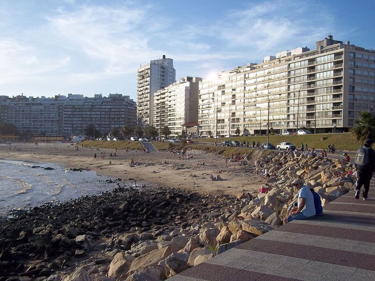 Rambla of Montevideo, Uruguay