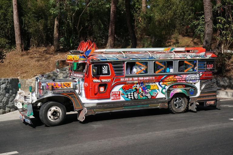Jeepney in Baguio