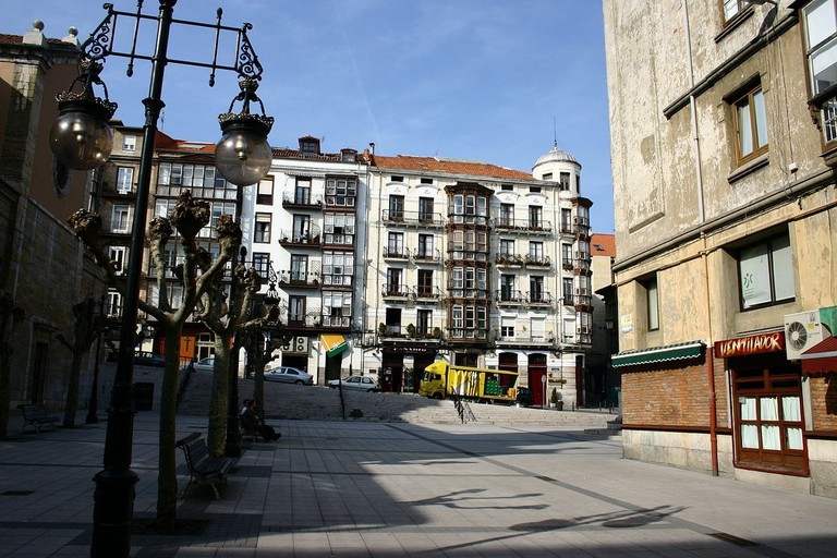 Plaza Cañadio, Santander, Spain