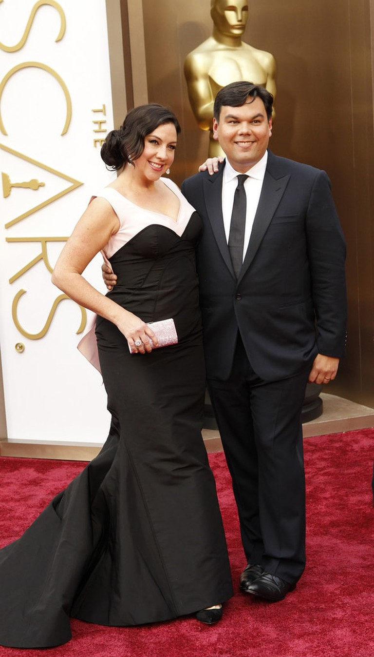 Kristen Anderson-Lopez at the 2013 Academy Awards