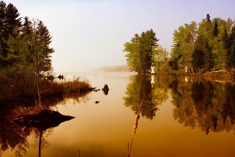 Sunrise on Rangley Lake