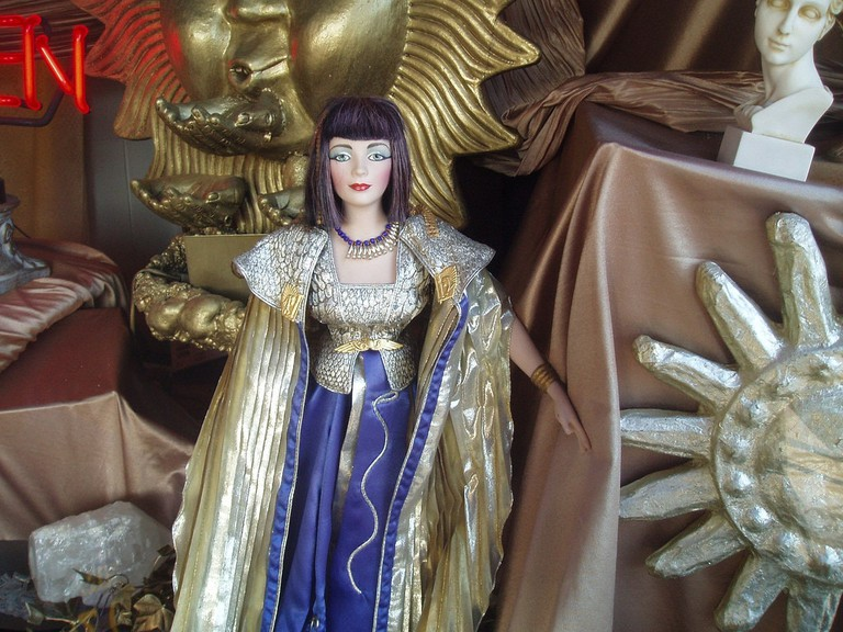 Modern depiction of Cleopatra