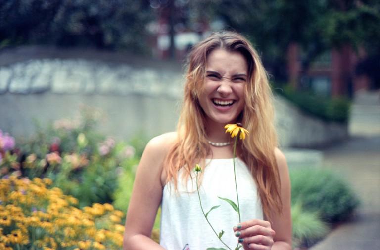 Garden grin