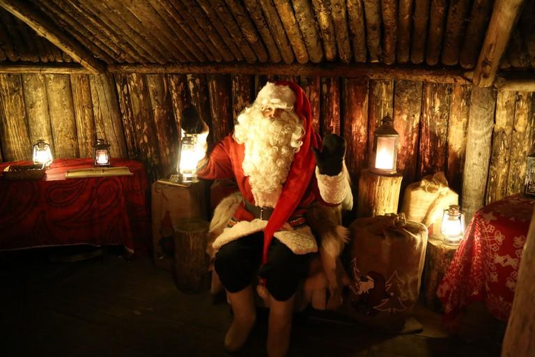 Actor playing Santa Claus / Visit Lakeland / Flickr