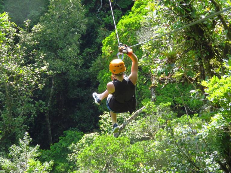 Tree Trek Zipline, Boquete, Panama