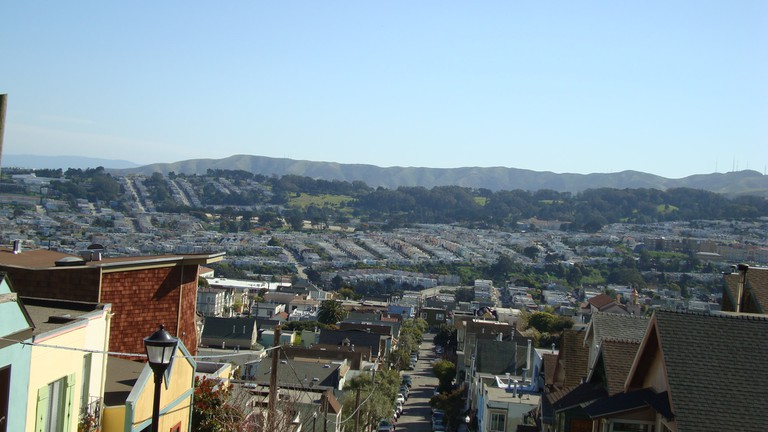 The Outer Mission from Bernal Heights| © A Name Like Shields Can Make You Defensive / Flickr