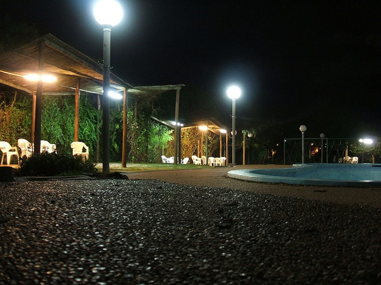 Pool at Termas del Daymán, Salto, Uruguay