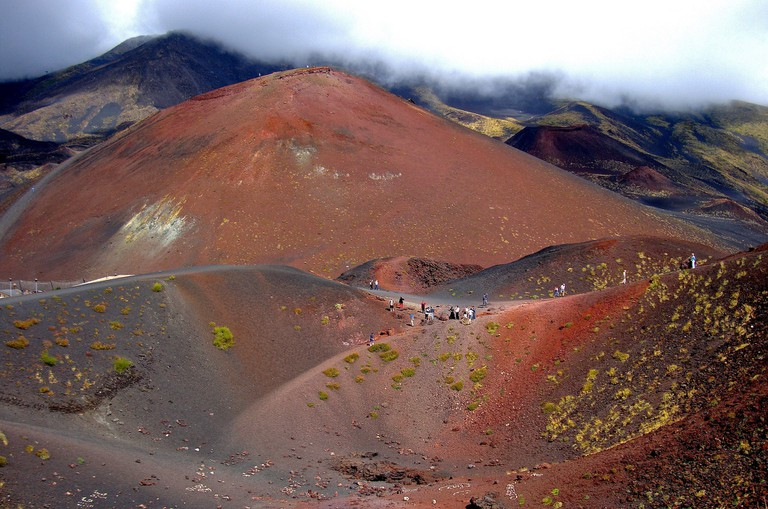 The surreal landscape of a lava desert near Mount Etna | © Dean Hochman/Flickr