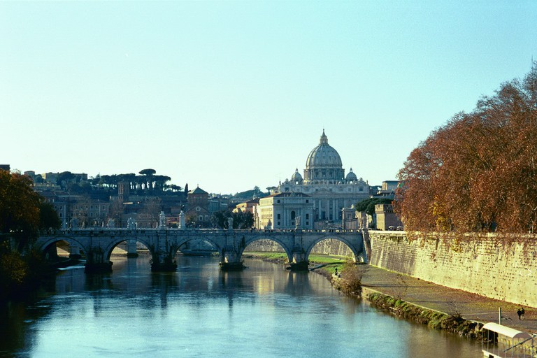 Rome's waterfront is a picturesque spot to run | © Chris Yunker/Flickr