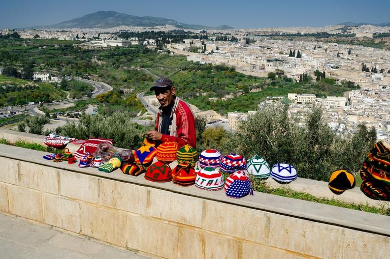 """<a href = """"https://www.flickr.com/photos/xiquinho/28211353485/""""> View of Fez"""